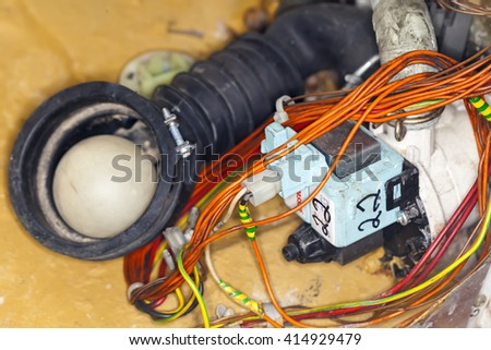 wire circuits of the control of the washing machine repair