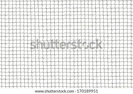 Wire fence isolated. - stock photo