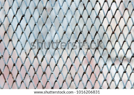 Wire Net Steel Fence Texture Old Stock Photo 1016206831 - Shutterstock