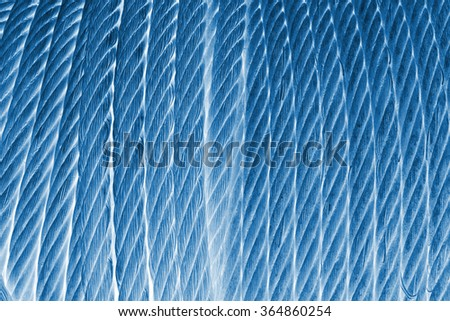 Wire Rope Texture Heavy Duty Steel Stock Photo 364860254
