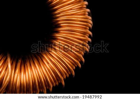 wire , spool , dimmer - stock photo