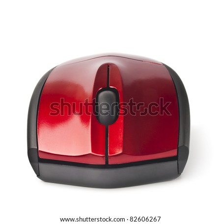 wireless computer mouse - stock photo