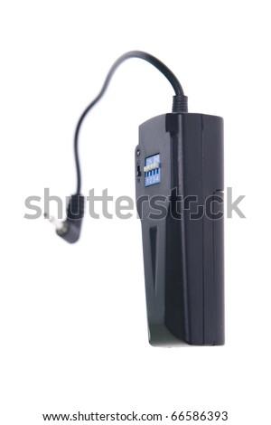 wireless flash trigger - stock photo