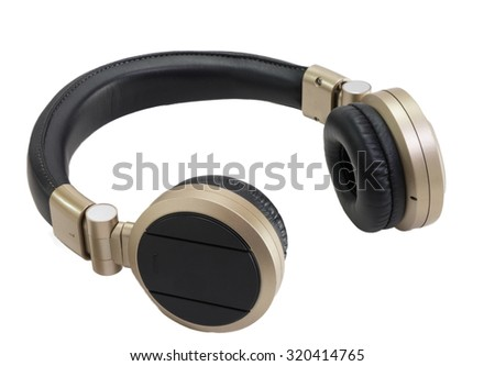 Wireless Gold Headphone