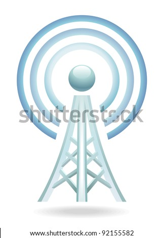 wireless tower icon