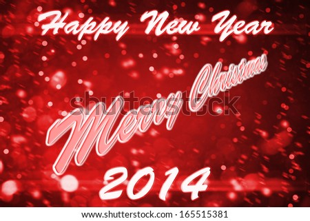 Wish everyone happy 2014 year and merry christmas