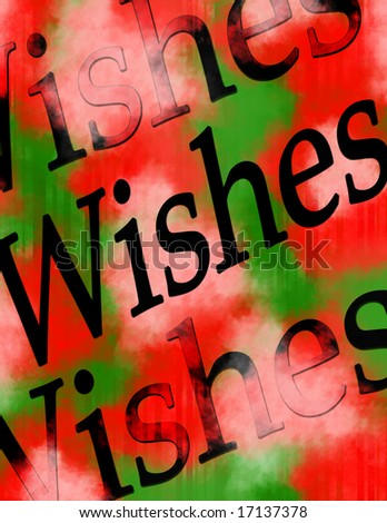 Wishes - stock photo