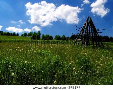 Wisla in Poland - stock photo