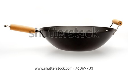 wok - stock photo