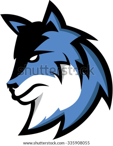 Wolf illustration design