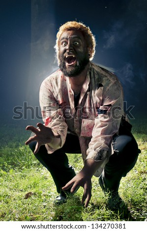 Wolfman - stock photo