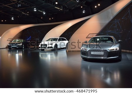 Interior View Of Permanent Audi Exhibition In