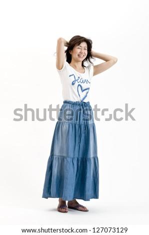 woman, - stock photo