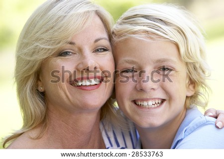 Woman And Her Son