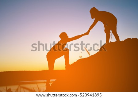 People Helping Each Other Stock Images, Royalty-Free Images ...