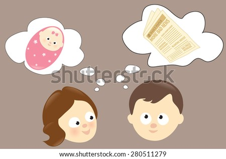 Woman and man concept - Jpeg - stock photo