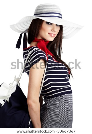Woman and Sailor fashion style