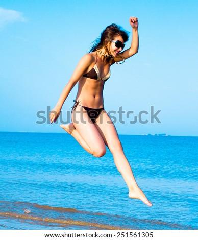 Woman Beauty Workout  - stock photo