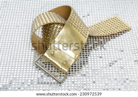 Woman belt  - stock photo