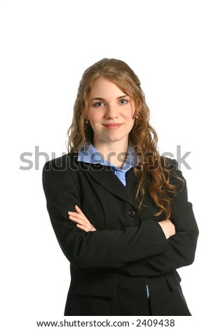Woman business manager - stock photo