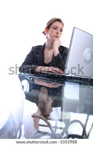 Woman - Business, Teacher, Lawyer, Student... - stock photo