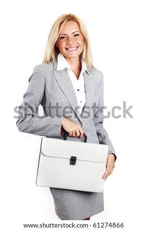 woman call - stock photo