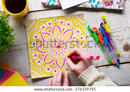 New Coloring Book : Coloring book stock images royalty free & vectors