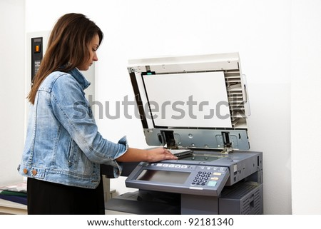 coin operated photocopier machine