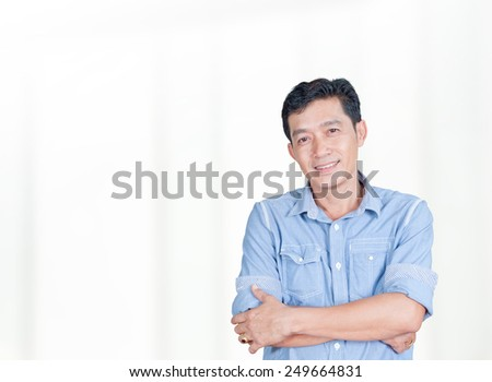 woman doctor 30 - 40 year old at the hospital with patients at the background  - stock photo