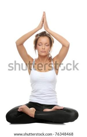 yoga crossed legs stock images royaltyfree images