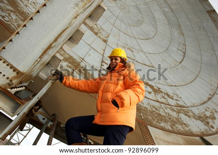 woman engineer - stock photo