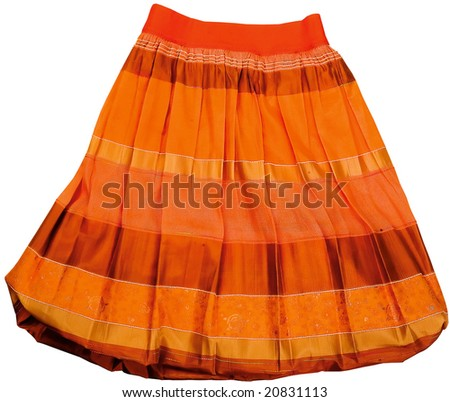 woman fashion skirt