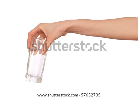 woman giving a glass with water to patient