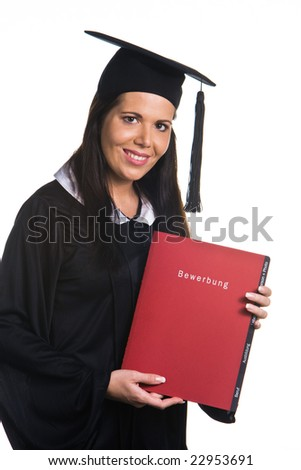 woman graduated with a Diploma
