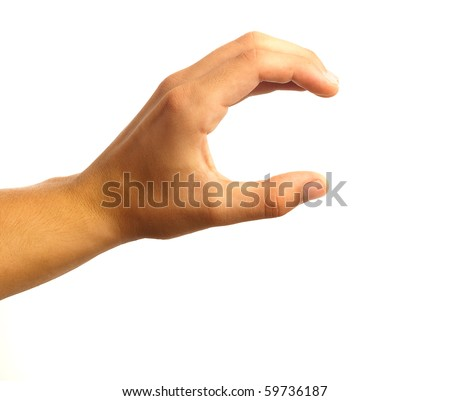 woman hand - stock photo