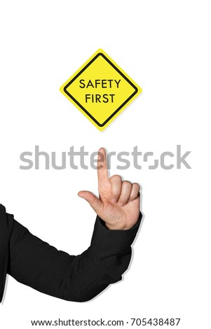 Safety First Signs And Symbols