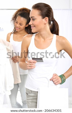 Clothing store credit cards Clothing stores