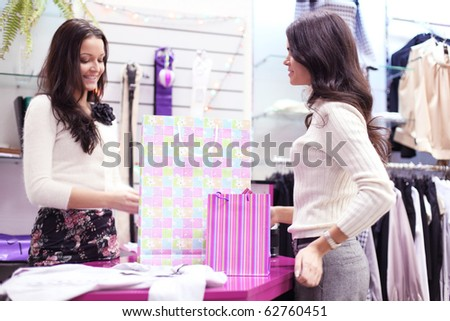 woman in shop