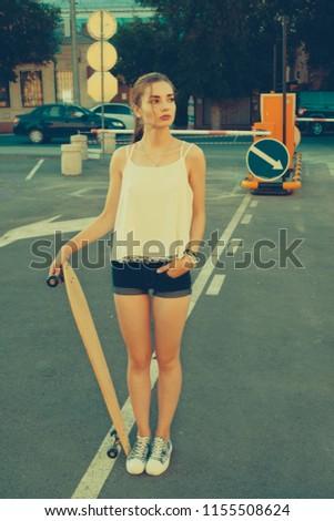 stock-photo-woman-in-street-vintage-fash