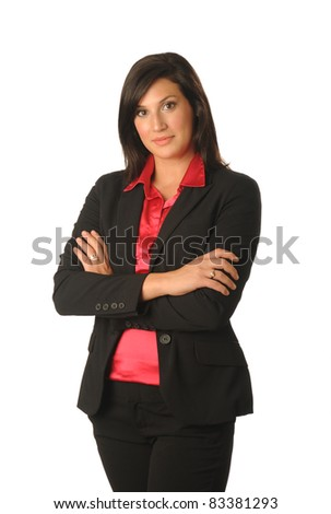 woman of the office - stock photo