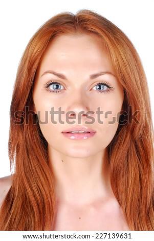 Woman portrait. Spa. - stock photo