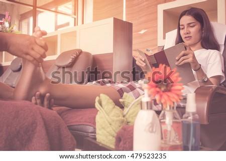 Foot massage women erotic