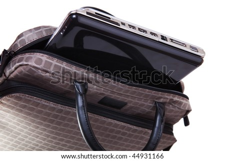 Woman's Bag and Laptop