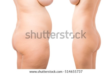 and weight after nude loss before