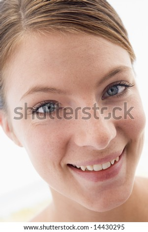 Woman's face - stock photo