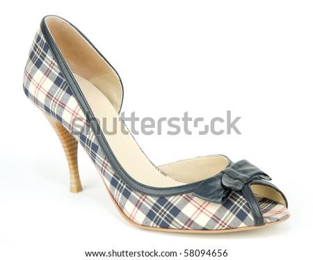 woman's shoe - stock photo