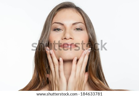woman skin - stock photo