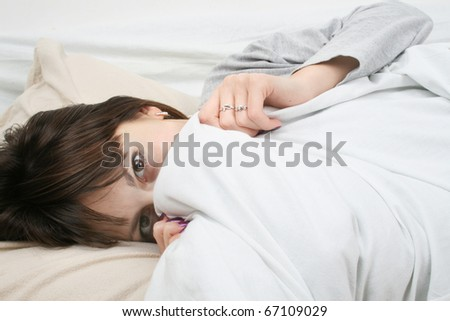 woman sleep - stock photo