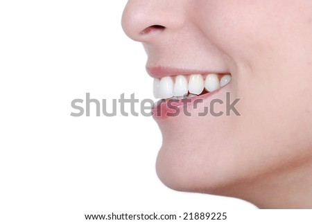 Woman Smile, it is all about happiness - stock photo