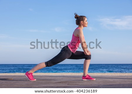 woman streching exercise yoga